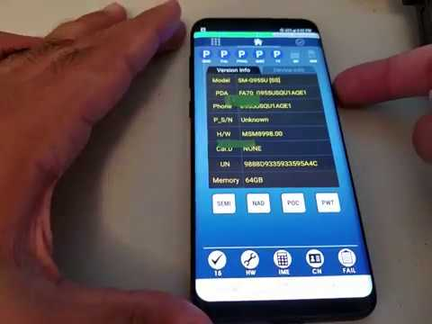 Free firmware update samsung S9+ flash file 03k 9.0 Rom repair 7