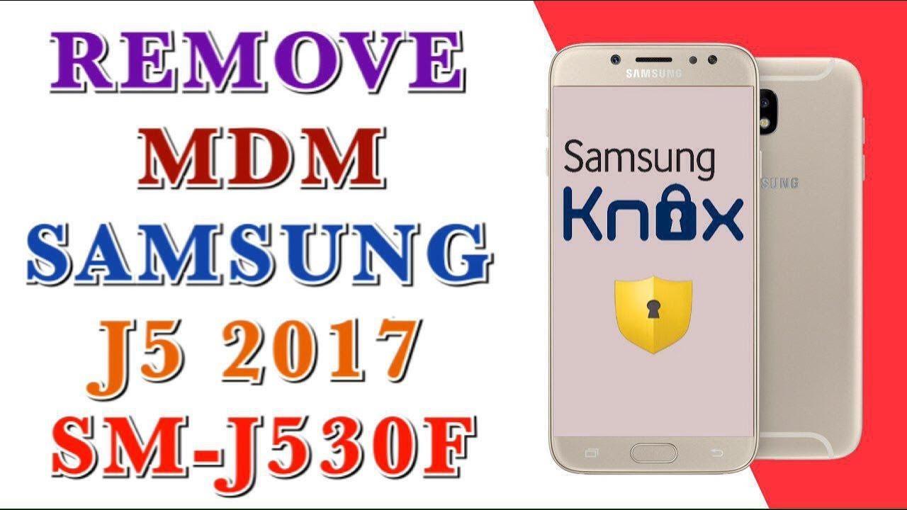 fix probleme remove mdm samsung j530f j5 2017 version 7.0 u2 DONE 1