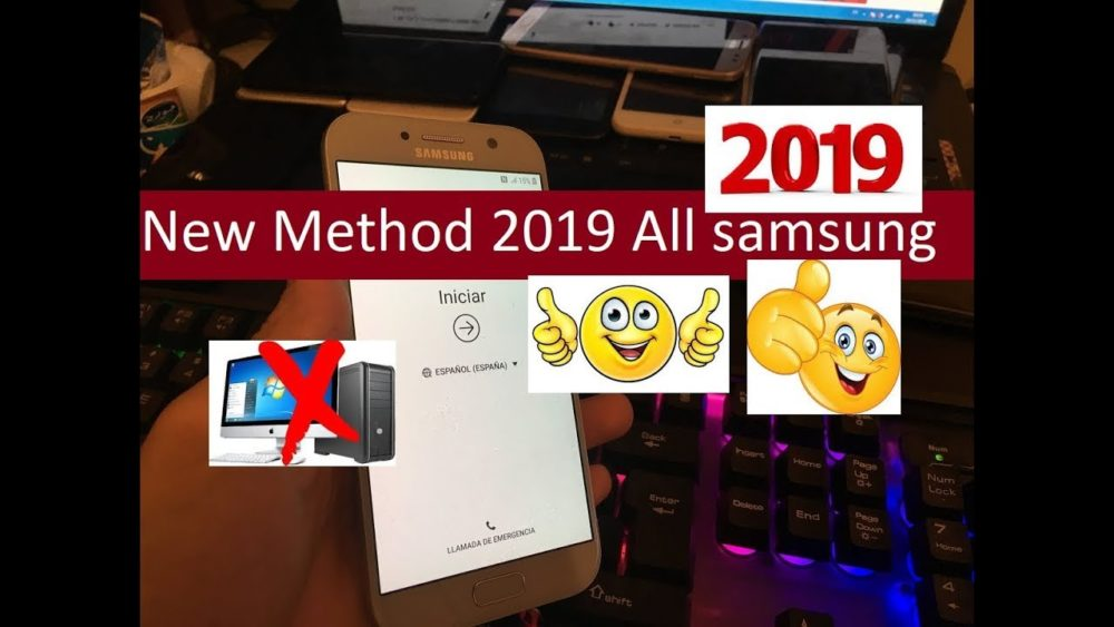 NEW METHOD REMOVE ALL ACCOUNT SAMSUNG ANDROID 2019 1