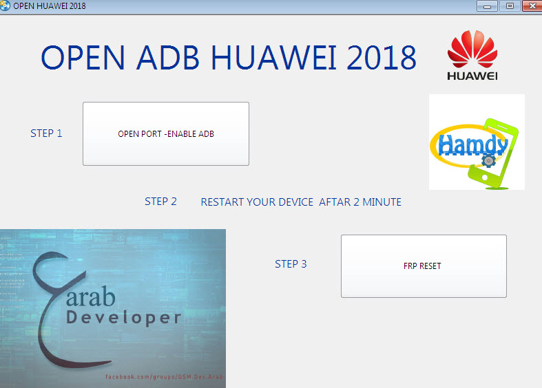 remove frp all huawei tool force enable adb all huawei 2020 tool 1