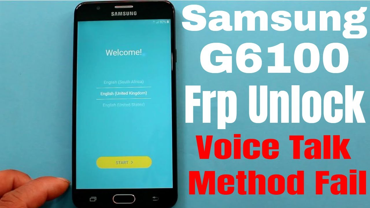 Samsung G610f Frp Without Pc , Free Combination , Firmware , Root 1