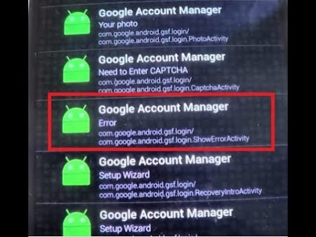 google account apk