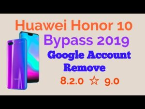 remove frp honor 10 security 2019 janvier wihout pc 6