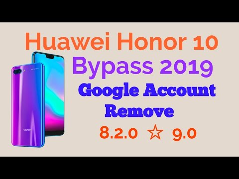 remove frp honor 10 security 2019 janvier wihout pc 1