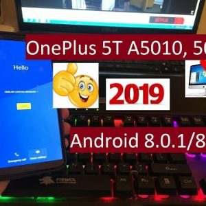 remove account ID frp OnePlus 5T A5010, 5000 done new security 3