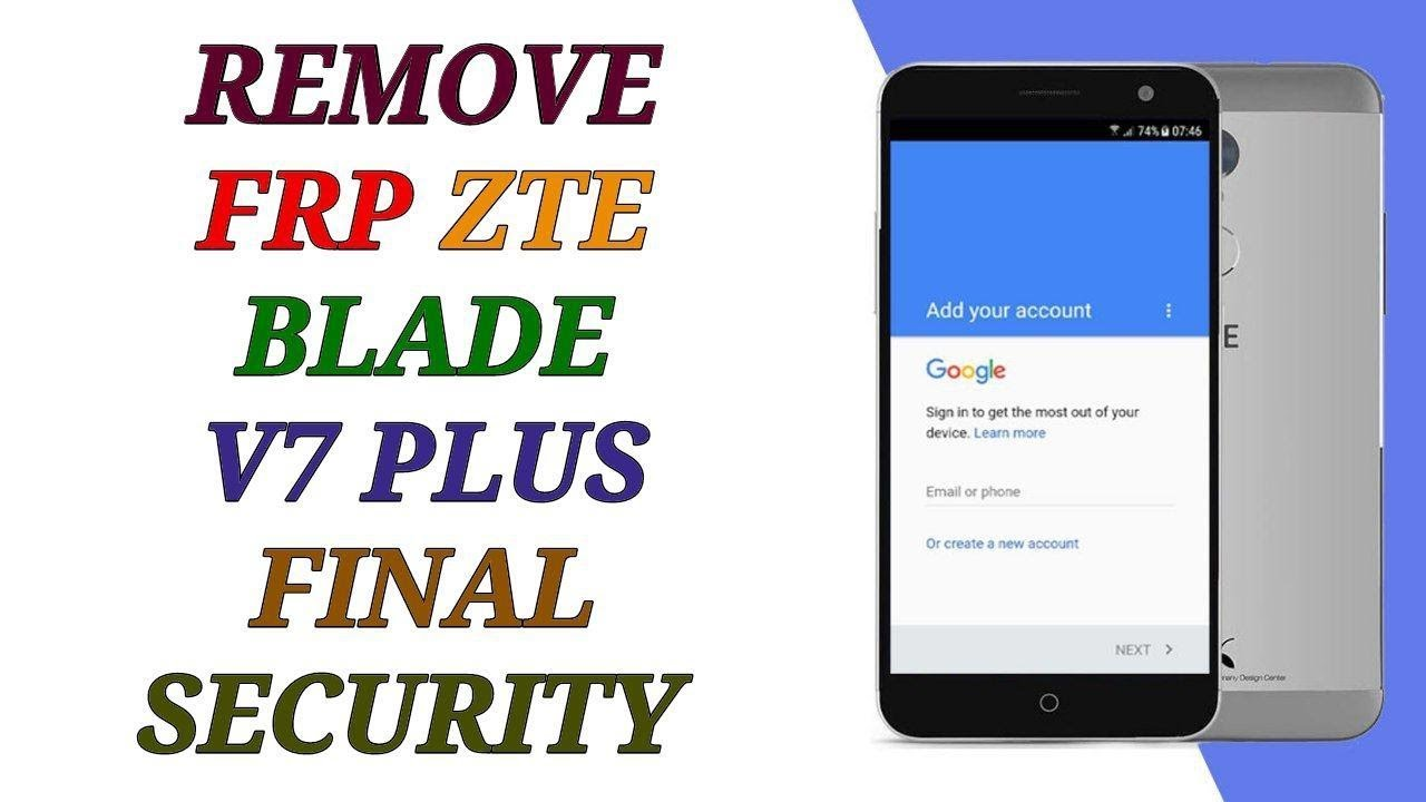 how to remove frp zte blade 7 plus bypass google account reset done 1