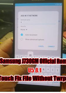 download room repair touch screen j730gm u5 in remove frp 10