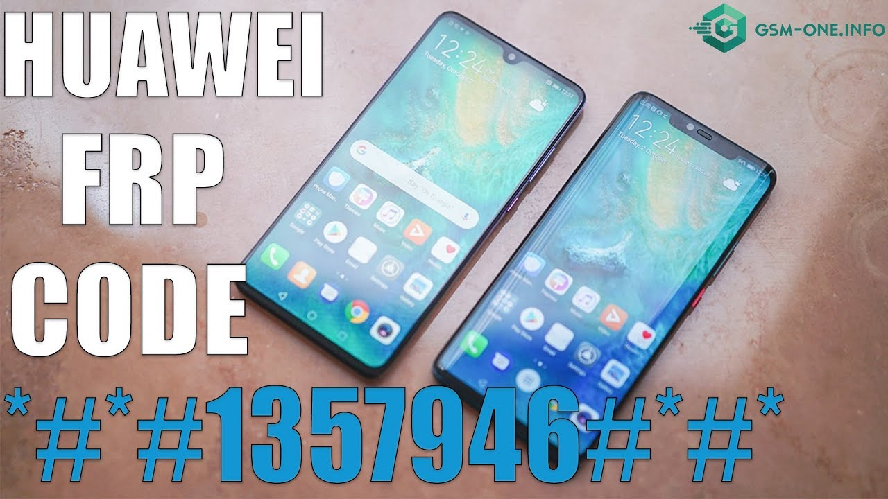 remove FRP All HUAWEI WITH CODE | *#*#1357946#*#* version 9.0 1