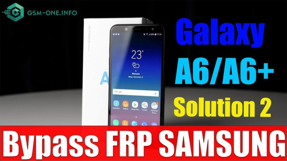Free Samsung Galaxy A6+ Combination a605 and firmware 1