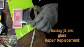 Glass Only Repair Replacemen j5 pro new methode 4