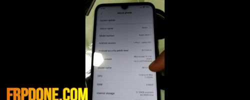 Remove Frp Redmi note 7 miui 10 android 9 without pc done 3