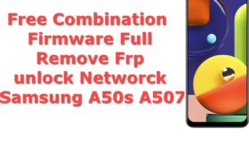 Free Rom Combination Frp Firmware Samsung Galaxy A50s A507 7