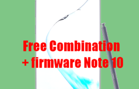 Free rom Combination Samsung Galaxy Note 10 5G +FIRMWARE 1