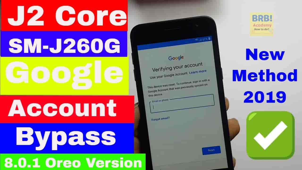 How To Remove samsung j260g frp bypass 3