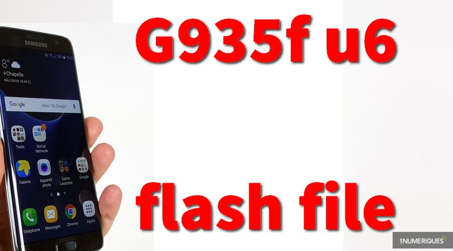 Free Flash File Samsung Galaxy S7 G935f u6 firmware