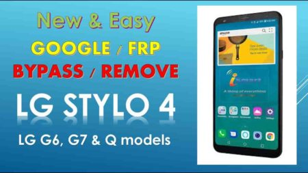 How to Remove lg stylo 4 frp bypass 2019 1