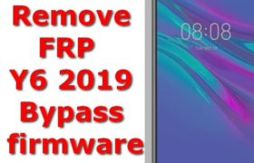 Mrd-Lx1f Remove FRP Y6 2019 Bypass 9.0.1.138 firmware stockrom 6