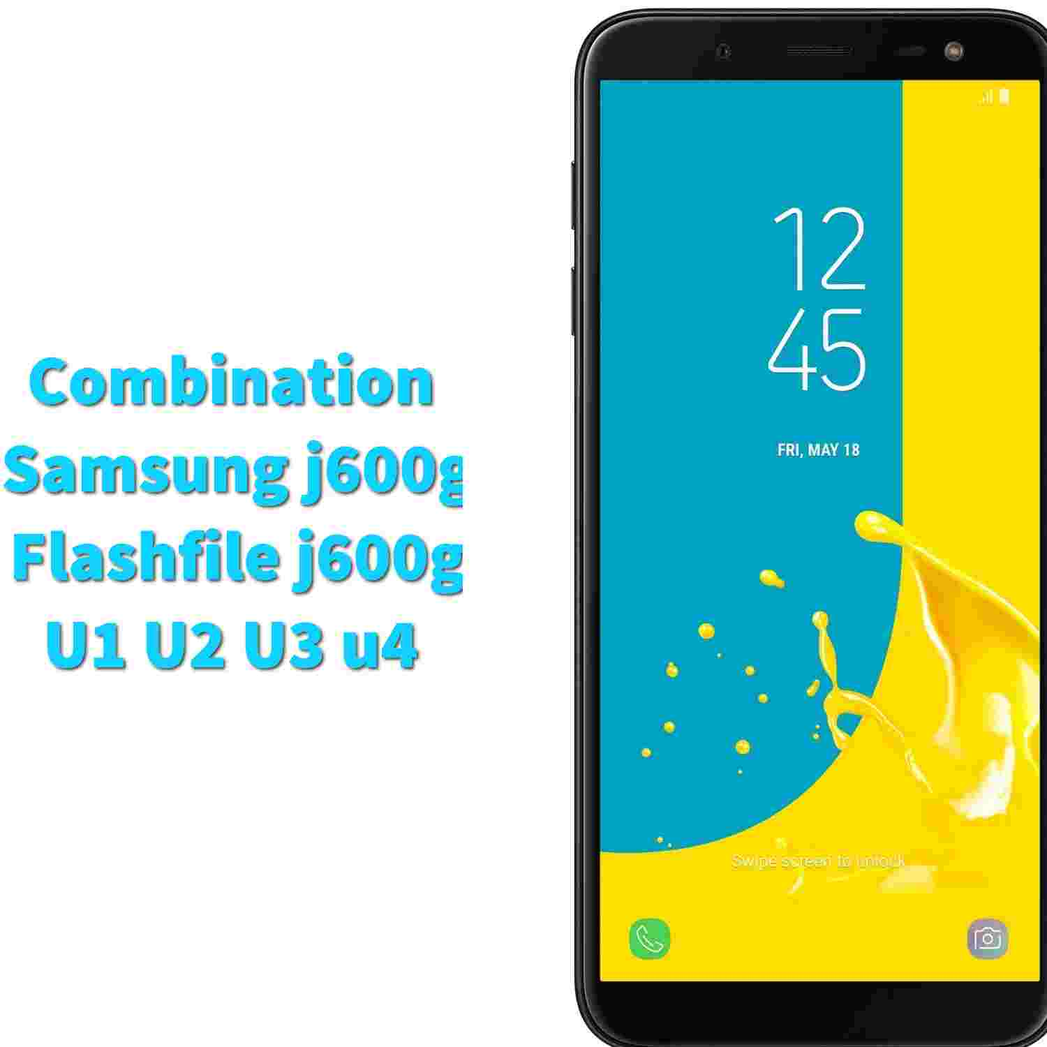 samsung j600g combination file