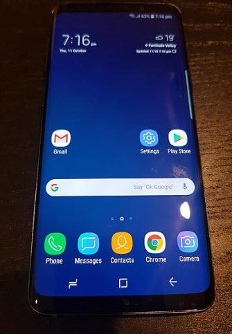 Samsung S9 usa bypass