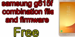 free samsung g615f combination + firmware