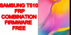 Free rom combination t510 for remove frp + firmware