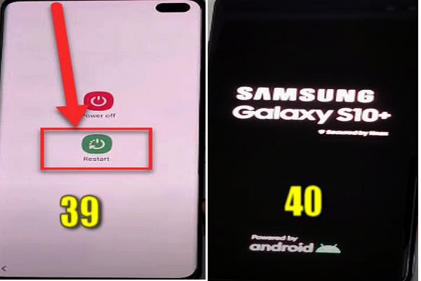 how to bypass samsung s10/s10+/s10e frp without pc and apk 21